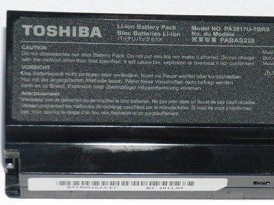 Toshiba Satellite A660, C650, L630, L650, M300, U400, U500 - 10,8V 5200 mAh