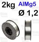 DRUT AlMg5  Ø 1,2 - 2KG