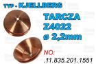 TARCZA- Z4022 - ø 2,2mm - .11.835.201.1551