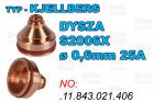DYSZA S2006X - ø 0,6mm 25A-.11.843.021.406