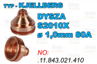 DYSZA S2010X - ø 1,0mm 80A-.11.843.021.410