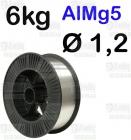 DRUT AlMg5  Ø 1,2 - 6KG