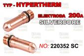 ELEKTRODA 220352 - 200A SILVER CORE
