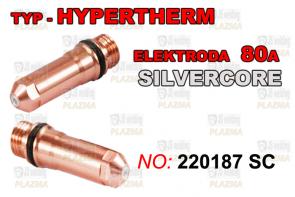ELEKTRODA  220187 - 80A SILVER CORE