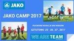 Zaproszenie na JAKO CAMP Sztutowo 23-30.07.2017