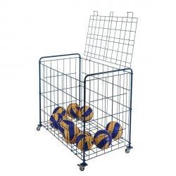Wózek na piłki zamykany składany