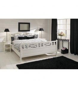 Łóżko w stylu skandynawskim HELEN