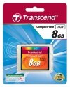 Transcend Compact Flash 8GB karta MLC 133X