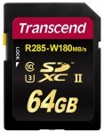 Transcend SDXC 64GB Class 10 UHS-II U3 Ultimate