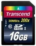 Transcend Secure Digital SDHC Card 16 GB Class 10