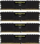 Corsair  16 GB DDR4-3200 Quad-Kit, CMK16GX4M4C3200C16, Vengeance LPX