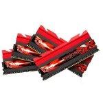 G.Skill DIMM 16 GB DDR3-2800 Quad-Kit F3-2800C11Q-16GTXDG, TridentX+