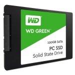 SSD  120GB WD Green 2,5 (6.3cm) SATAIII intern bulk