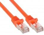 InLine 5m Kabel krosowy 100 Mbit RJ45 - pomarańczowy