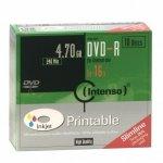 Intenso DVD-R 4,7 GB 16x, 10 szt., bedruckbar