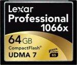 Lexar Professional CF 1066x 64GB karta pamięci  technologia UDMA7