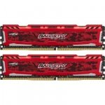 Ballistix Sport LT 8GB Kit DDR4 4GBx2 2400 MT/s DIMM 288pin red