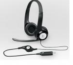 Logitech Usb Headset H390 Usb, Czarny