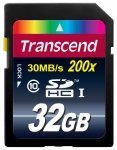 Transcend Secure Digital SDHC Card 32 GB Class 10