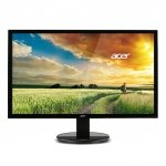 Acer K242HQKbmjdp, LED czarny, DisplayPort, HDMI, DVI-D, Audio