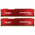 Kingston HyperX DIMM 16 GB DDR3-1866 Kit HX318C10FRK2/16, Fury-Serie