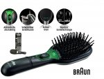 Braun BR-730 Satin Hair Brush Activ ION + etui