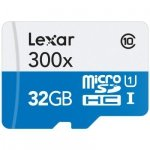 Lexar microSDHC High Speed  32GB with Adapter Class 10 300x