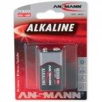 1 Ansmann Alkaline 9V-Block red-line