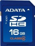ADATA Secure Digital SDHC Card 16 GB Class 4