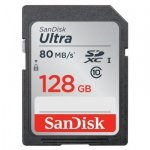 SanDisk Ultra SDXC UHS-I   128GB 80MB/s Cl. 10 SDSDUNC-128G-GN6IN