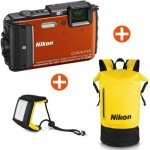 Nikon COOLPIX AW130 blue Diving Kit