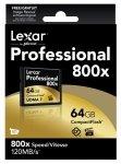 Lexar CF Card 64GB 800x Professional UDMA