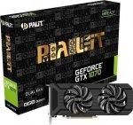 Palit GeForce GTX 1070 Dual 8GB GDDR5 (256 Bit) HDMI, DVI, 3x DP, BOX (NE51070015P2D)