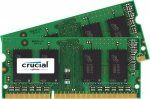 Crucial SO-DIMM 16 GB DDR3-1600 Kit,  CT2KIT102464BF160B