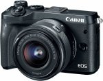 Canon EOS M6 Kit black + EF-M 3,5-6,3/15-45 IS STM