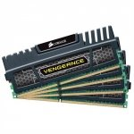 Corsair  32 GB DDR3-1600 Quad-Kit CMZ32GX3M4X1600C10, Vengeance XMP