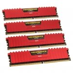 Corsair Vengeance LPX Red DDR4-2400 - CL14 - 32 GB