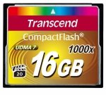 Transcend Compact Flash 16GB 1000x
