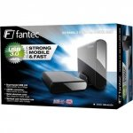 FANTEC DB-ALU 3 e czarny 3,5 Obudowa USB 3.0 eSATA