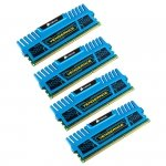 Corsair  16 GB DDR3-1600 Quad-Kit CMZ16GX3M4A1600C9B, Vengeance Blue