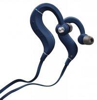 Denon AHC160W niebieskie słuchawki sportowe