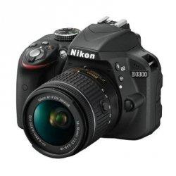 Nikon D3300 Kit black + AF-P 18-55 VR