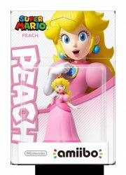 Nintendo amiibo Super Mario Peach