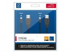 Speedlink STREAM Play&Charge Kabelset black PS4
