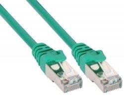 InLine 3m Kabel krosowy 100 Mbit RJ45 - zielony