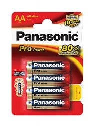 Panasonic Pro Power Gold AA LR6PPG/4BP