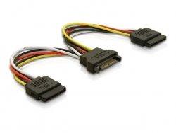 DeLOCK Serial-ATA Y-Stromadapter