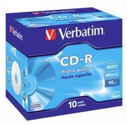 Verbatim CD-R 800 MB 40x, 10 Szt.