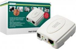 Digitus Serwer druku USB / RJ45 - udostepnianie drukarki w sieci