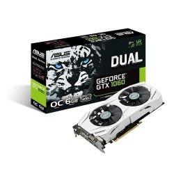 ASUS DUAL GeForce GTX 1060 O6G 6GB